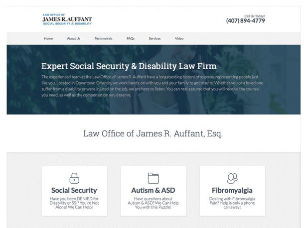 Law Office James R. Auffant