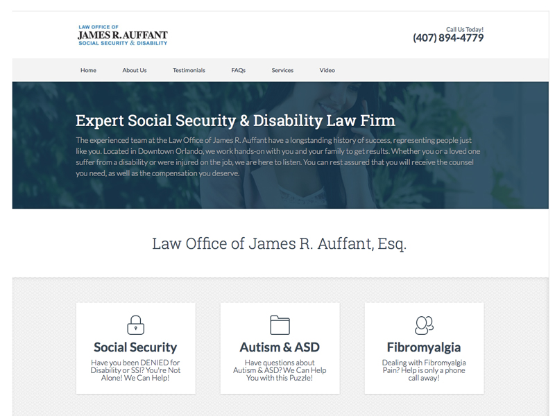 a social security lawyer auffant site