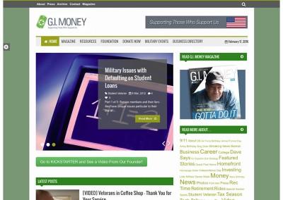 G.I. Money Foundation – Website