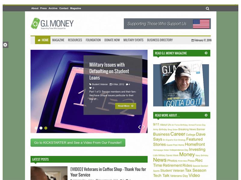 gimoney website nonprofit