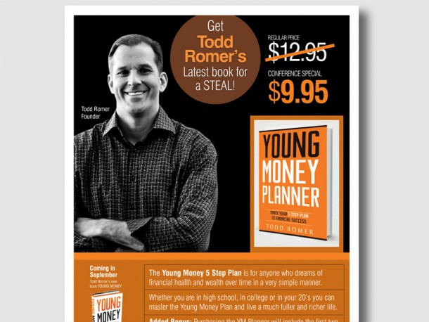 Young Money Planner – Book Event Poster