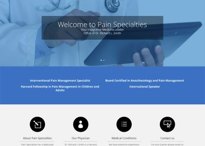 Pain Specialties – Dr. Richard L. Smith